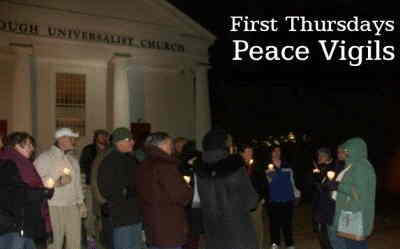 First Thursdays Peace Vigils @UUFoxborough